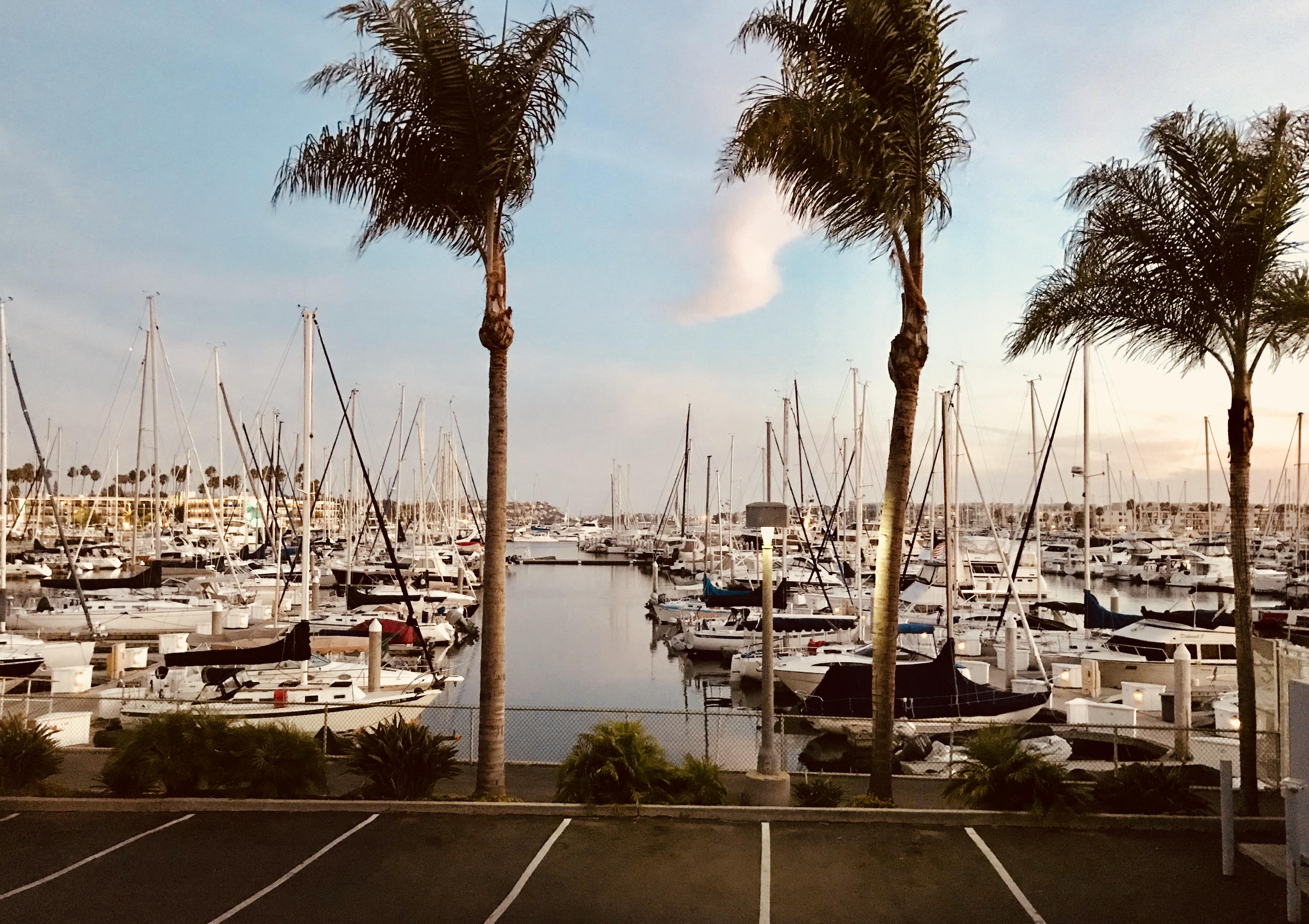 【南山韬客食尚札记】Marina Del Rey海港的Cafe Del Rey