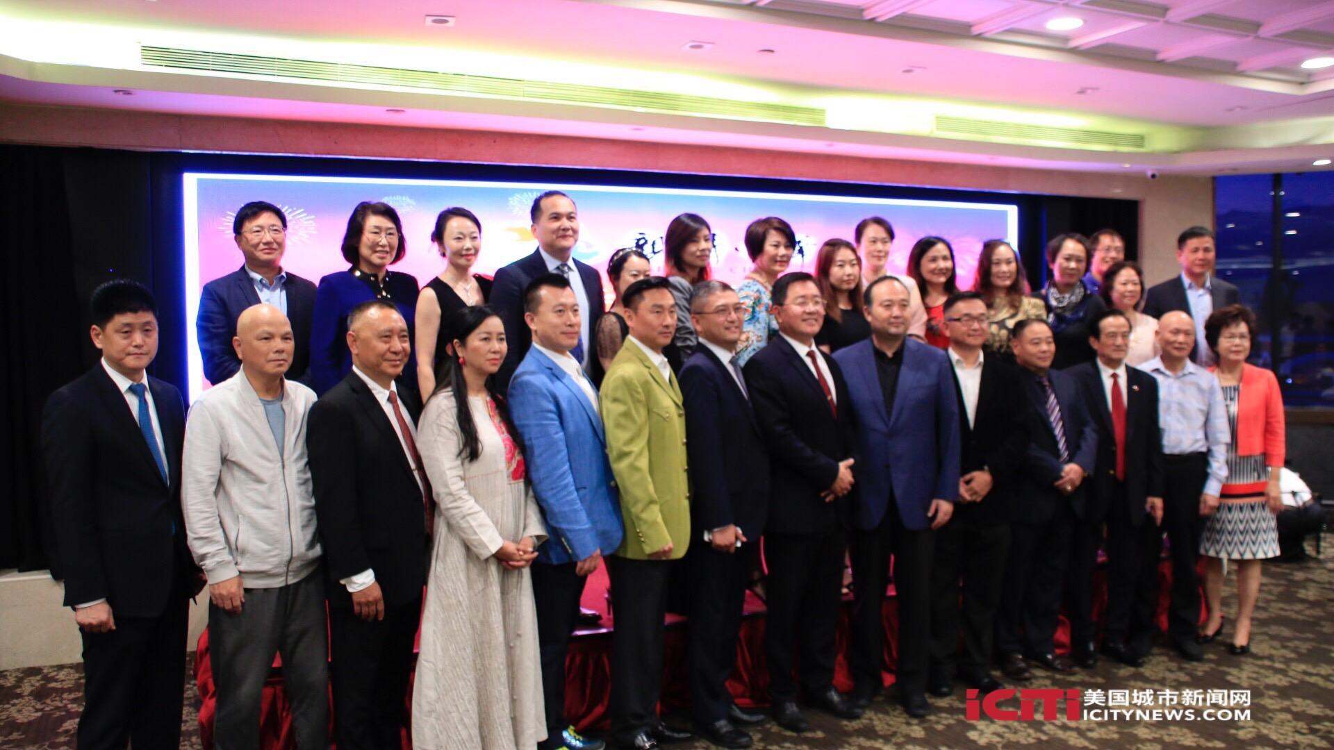 南加侨界欢迎亲情中华艺术团访问洛杉矶