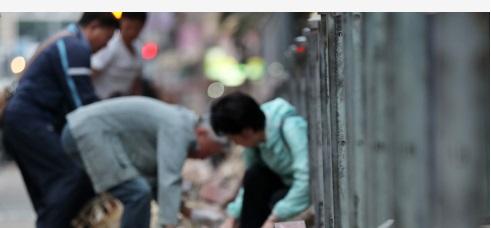 """香港市民集会谴责暴力乱港行径 呼吁加快二十三条立法遏止""""港独"""""""