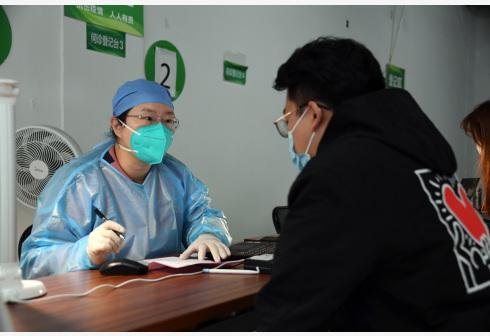 北京西城:新冠疫苗加强针接种工作进行时