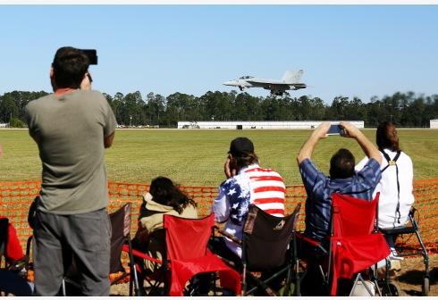 美国路易斯安那州哈蒙德飞行秀重启