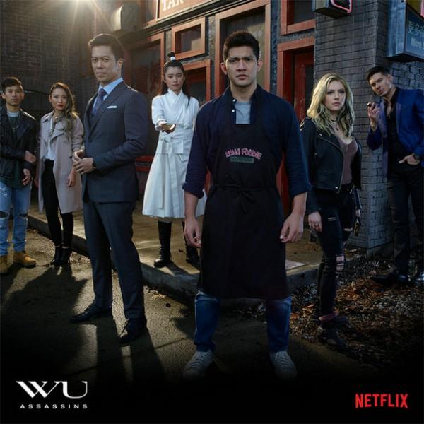 Netflix首部华人武术、超能力题材新剧《五行刺客》将于美国时间8月8日首播!