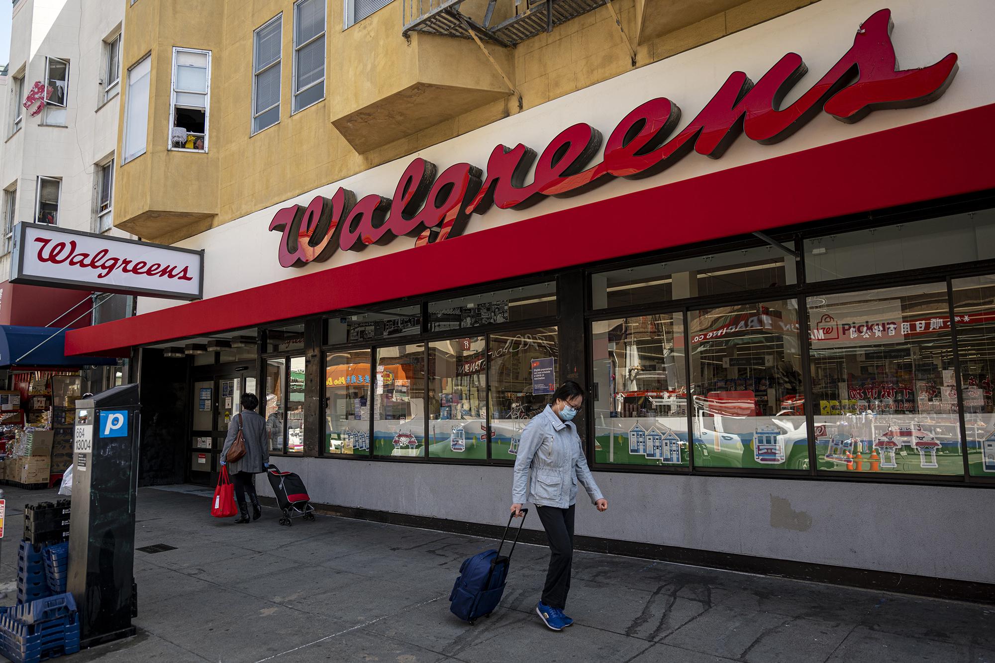 今日起Walgreens为接种疫苗提供25美元的现金奖励