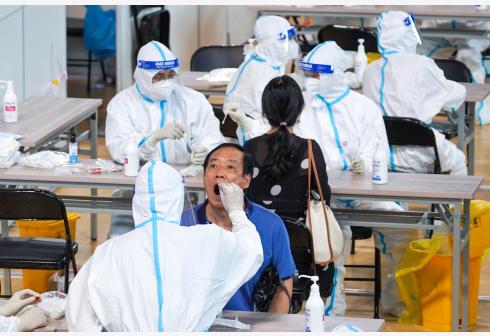 南京:已采集核酸标本500万份
