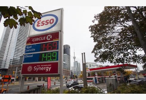 加拿大大多伦多地区油价攀升创新高